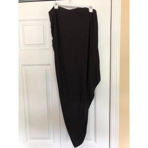 Bar III Skirts - Black Midi Maxi Skirt